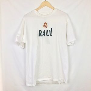 Adidas | Real Madrid CF Raul Gonzalez Graphic Tee